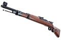 Marushin Kar98K Black Heavyweight Walnut Stock Gas Rifle