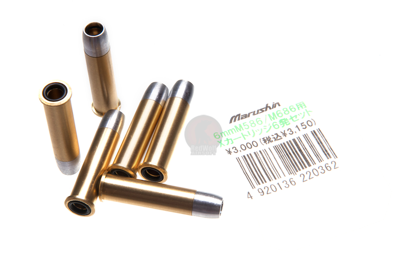 Marushin 6mm Shell for S&W M586 / M686 X Cartridge