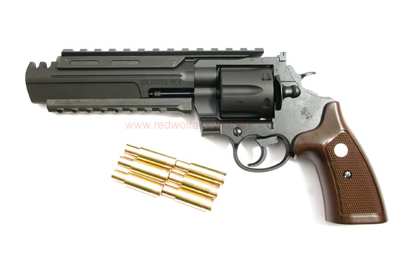 Marushin Unlimited Revolver Maxi ( 8mm, Black Heavy Weight )