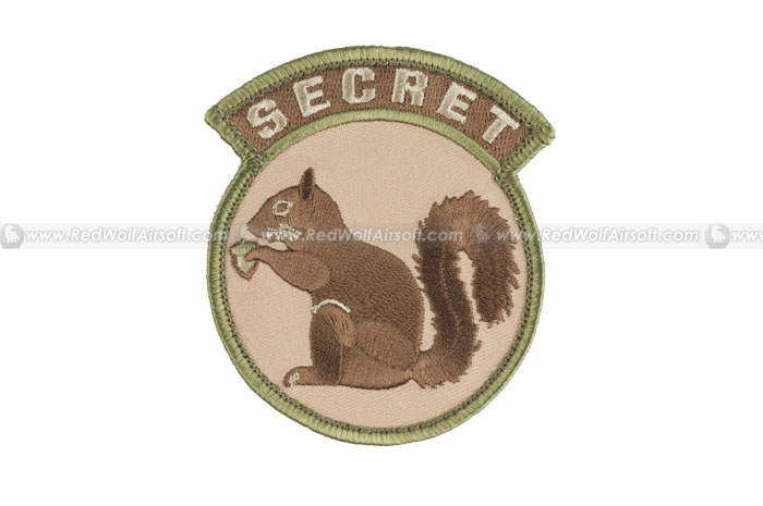 MSM Secret Squirrel Patch (MC)