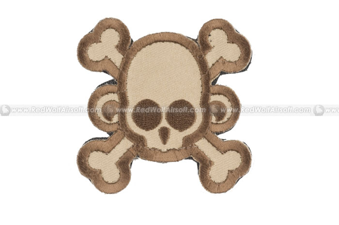 MSM SkullMonkey Cross Patch (Desert)