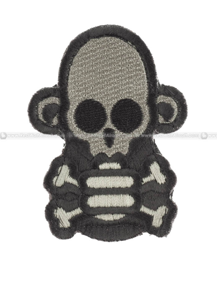 MSM Skull Monkey Stumpy Patch (ACUD)