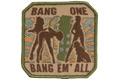 MSM Bang One, Bang Em All Patch (Arid)