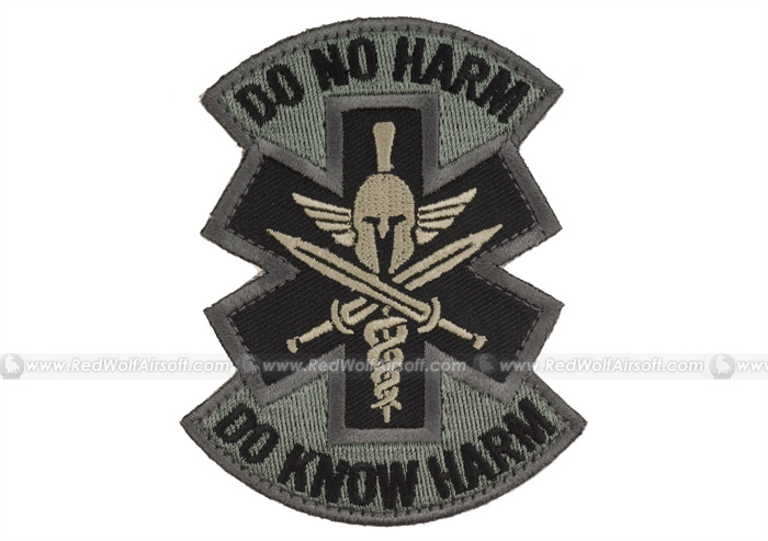 MSM Do No Harm Spartan Patch (ACU)
