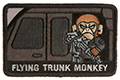 MSM Flying Trunk Moneky Patch (SWAT)