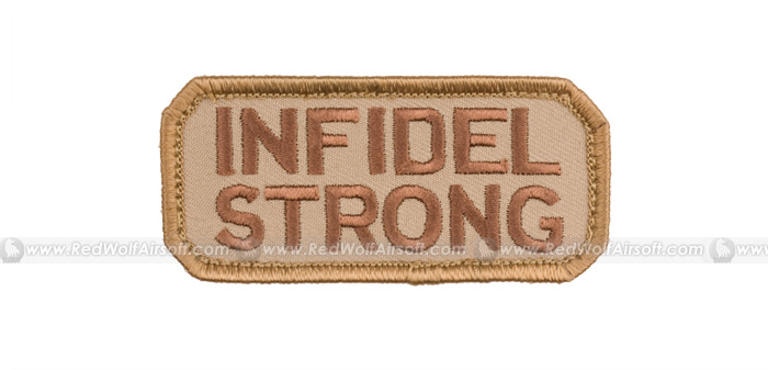 MSM Infidel Strong Patch (Desert Tan) <font color=yellow>(Clearance)</font>