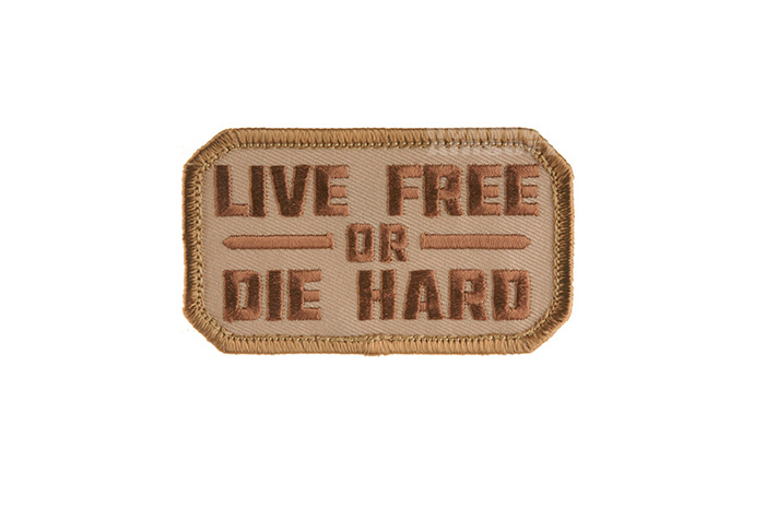 MSM Live Free or Die Hard Patch (Desert)