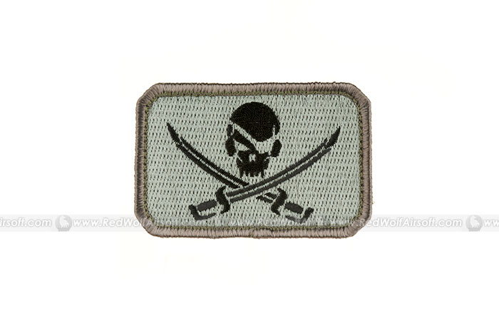 MSM Pirate Skull Flag Patch (ACUD)