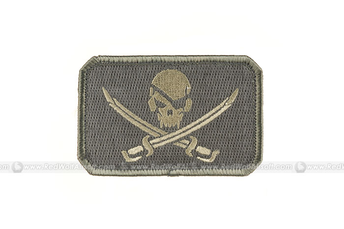 MSM Pirate Skull Flag Patch (ACUL)