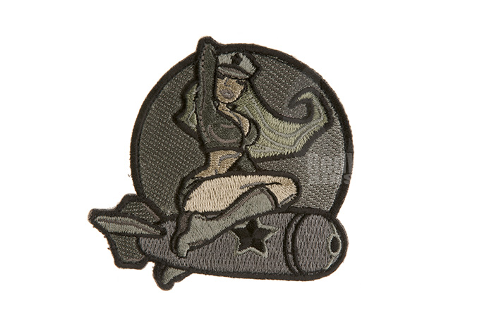 MSM Pinup Girl Patch (ACU)