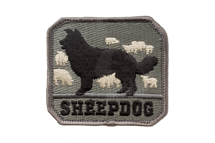 MSM Sheep Dog Patch (ACU Dark)