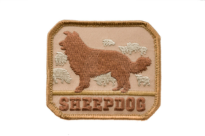 MSM Sheep Dog Patch (Desert Tan) <font color=yellow>(Clearance)</font>