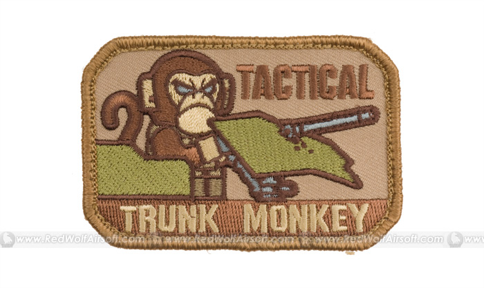 MSM Tactical Trunk Monkey Patch (Desert)