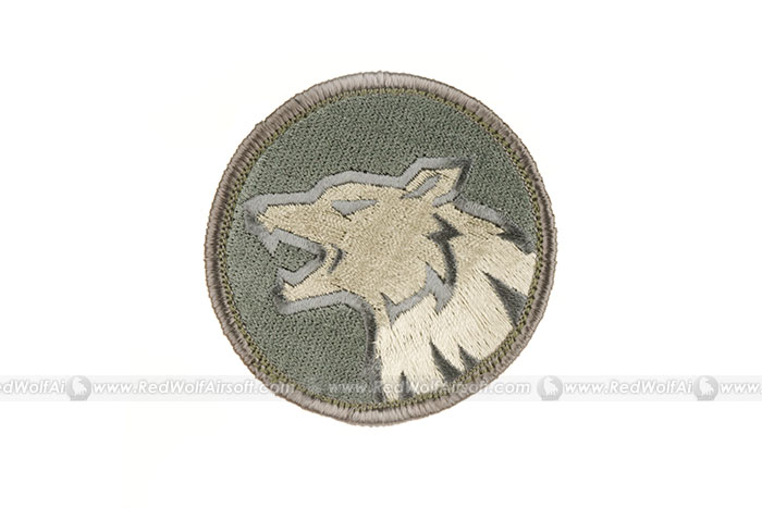 MSM Wolf Head Patch (ACUL)
