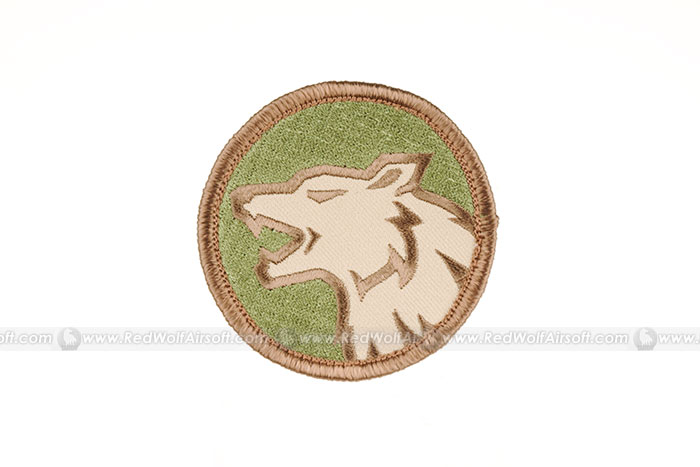 MSM Wolf Head Patch (MC)