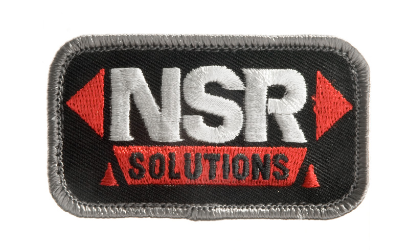 MSM NRS Solution Patch (Red/Black) <font color=yellow>(Clearance)</font>
