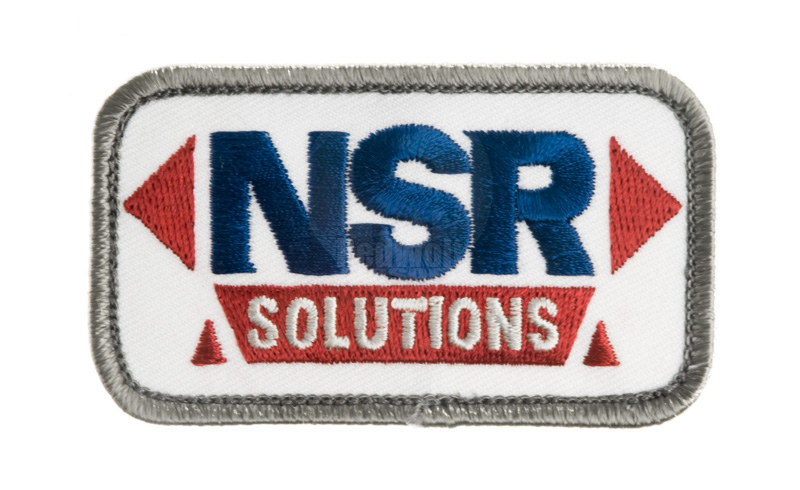 MSM NRS Solution Patch (White) <font color=yellow>(Clearance)</font>
