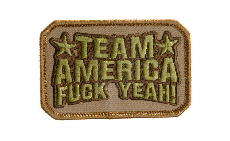 MSM Team America Patch (Desert)