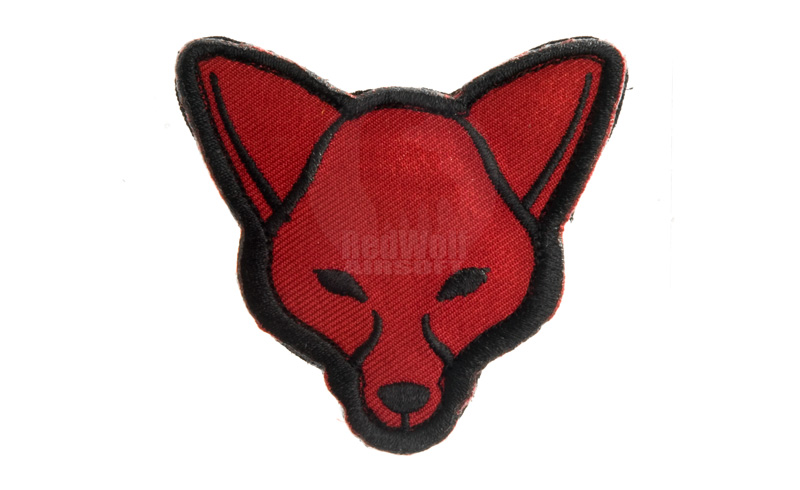 MSM Fox Head Patch (Red)