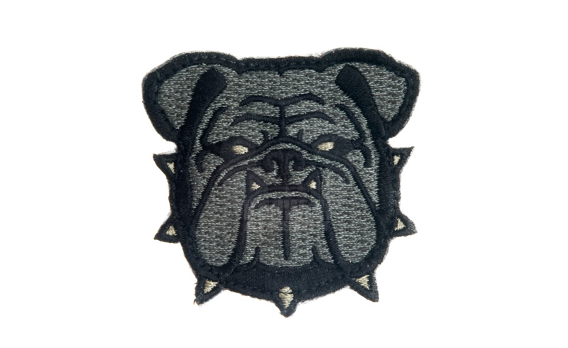 MSM Bulldog Head Small Patch (ACU)