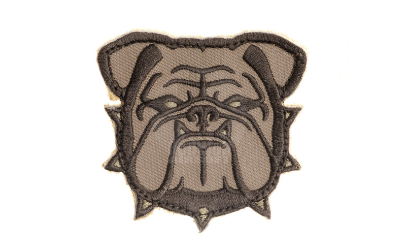 MSM Bulldog Head Small Patch (Desert)