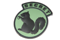 MSM Secret Squirrel PVC Patch (ACU DARK) <font color=red>(HOLIDAY SALE)</font>