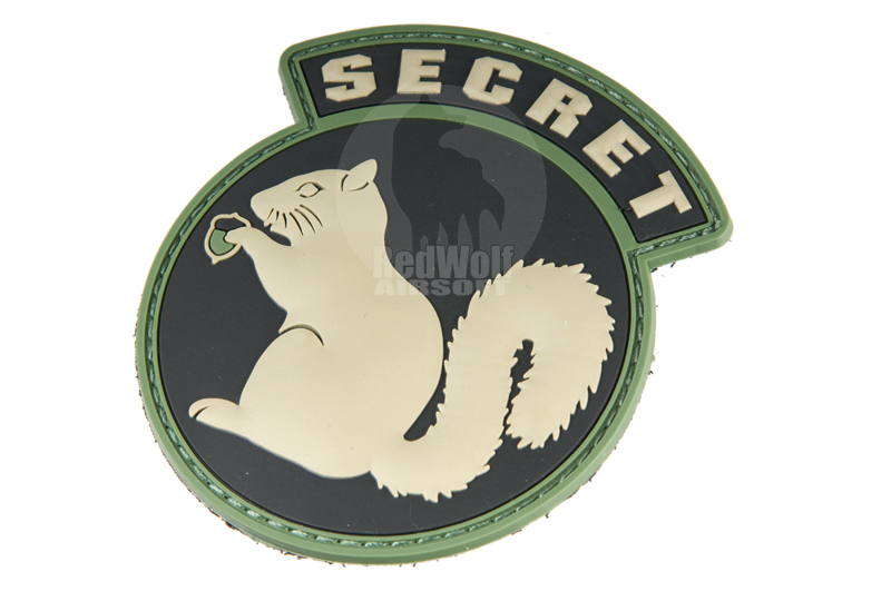 MSM Secret Squirrel PVC Patch (ACU LIGHT)