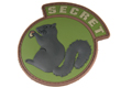 MSM Secret Squirrel PVC Patch (FOREST)