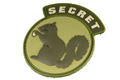 MSM Secret Squirrel PVC Patch (MC) <font color=red>(HOLIDAY SALE)</font>