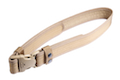 Milspex Waist Belt With Double Release Buckle (80-120cm / Tan) <font color=yellow>(Clearance)</font>