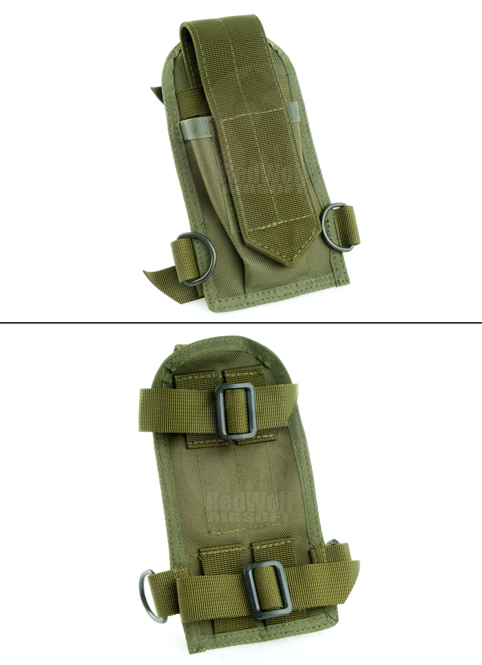 Milspex Buttstock M4 Mag Pouch (OD)