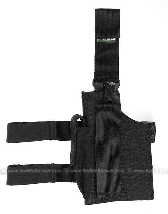 Milspex Holster for All Pistol (Black, Ambidextrous)