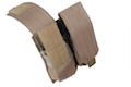 Milspex MOLLE Double Double-Stacked M4 Mag Pouch (Coyote Brown) <font color=red>(Free Shipping Deal)</font>