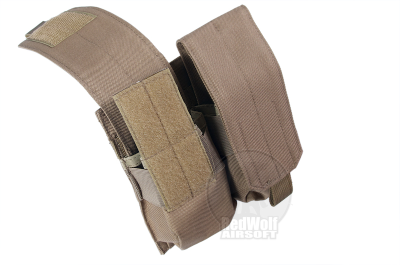 Milspex MOLLE Double Double-Stacked M4 Mag Pouch (Coyote Brown)