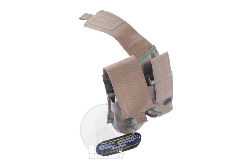 Milspex MOLLE Double Double-Stacked M4 Mag Pouch (MC / CORDURA)