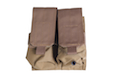 Milspex MOLLE Double Double-Stacked M4 Mag Pouch (TAN)