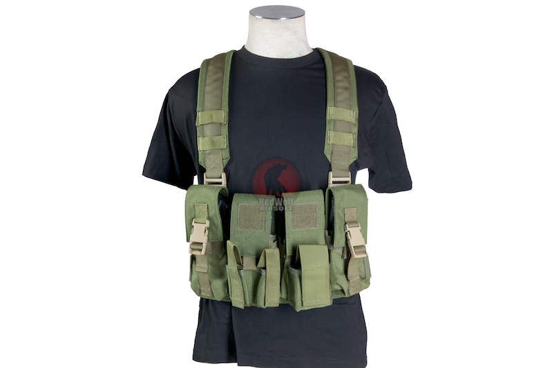 Milspex SF Chest Vest - OD<font color=red> (Clearance)</font>
