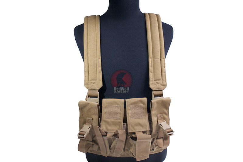 Milspex SF Chest Vest- TAN <font color=yellow>(Clearance)</font>