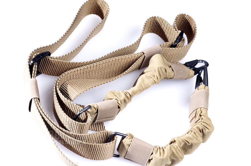 Milspex Two-Point Bungee Sling (TAN)<font color=red> (Clearance)</font>