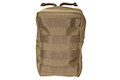 Milspex Vertical Accessories Pouch - Tan <font color=red>(HOLIDAY SALE)</font>