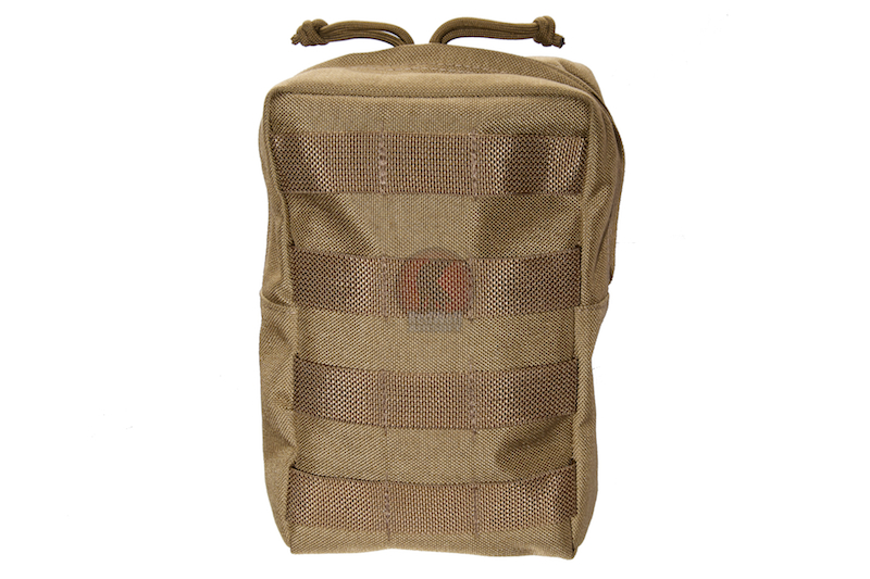 Milspex Vertical Accessories Pouch - Tan <font color=yellow>(Clearance)</font>
