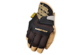 Mechanix Wear Gloves CG Padded Palm (Black / Leather / S Size)