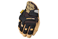 Mechanix Wear Gloves CG Impact Pro (Black / Leather / S Size)
