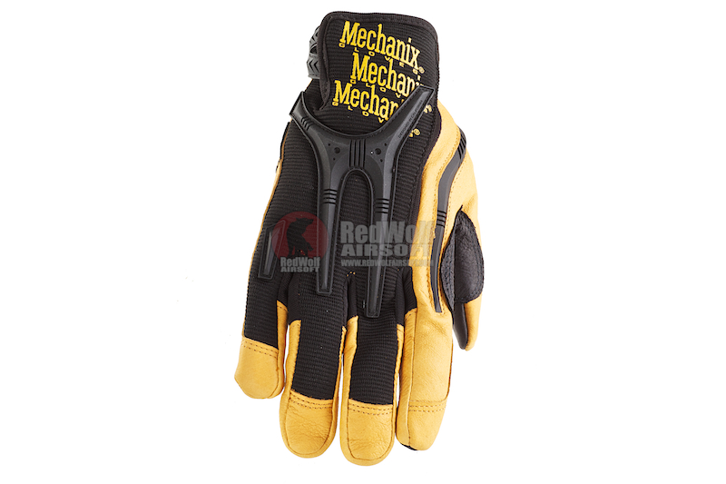 Mechanix Wear Gloves CG Heavy Duty (Black / Leather / XL Size)