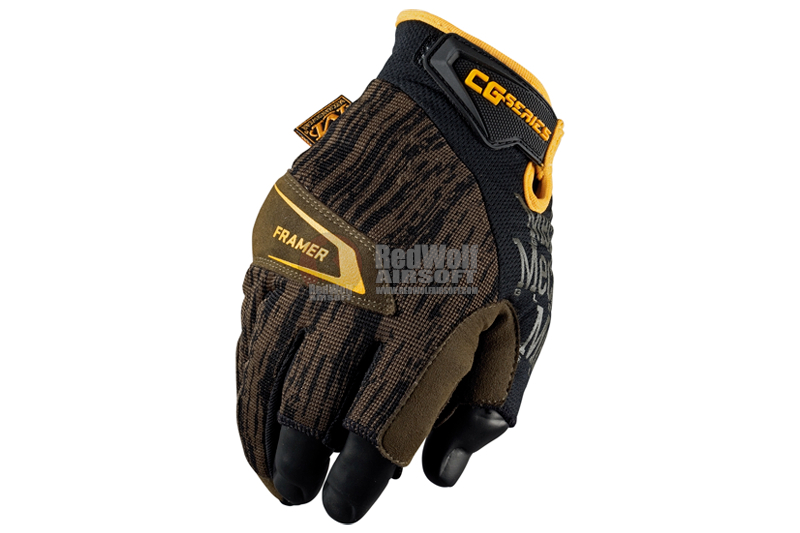 Mechanix Wear Gloves CG4x Framer (Moss / XL Size)