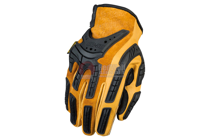 Mechanix Wear Gloves Heavy Duty (Black / Leather / L Size)