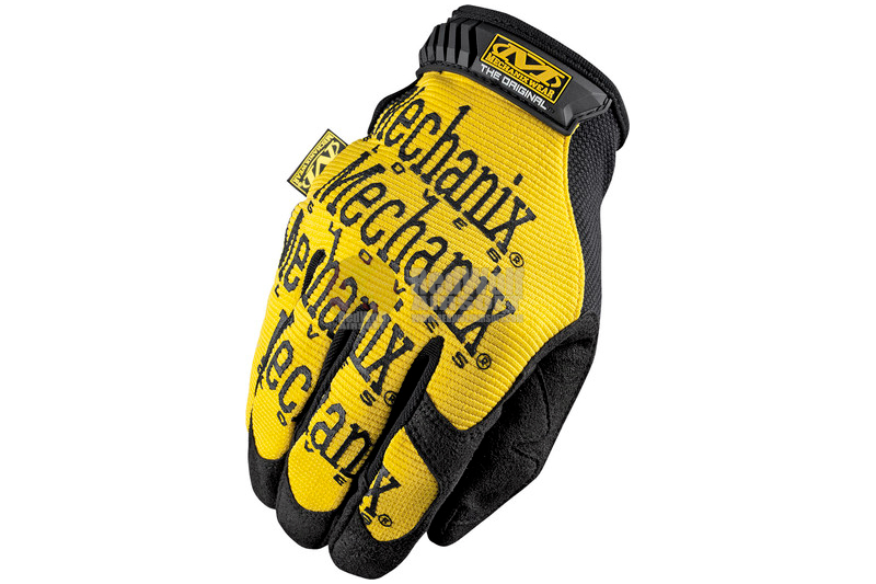 Mechanix Wear Gloves Original (Yellow / XL Size)