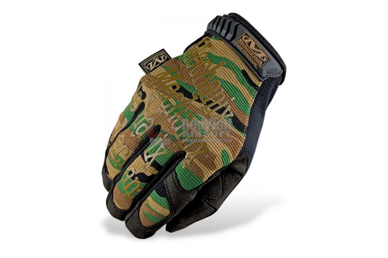 Mechanix Wear Gloves Original (Woodland Camo / M Size)