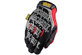 Mechanix Wear Gloves Original High Abrasion (Black / Red / XL Size)