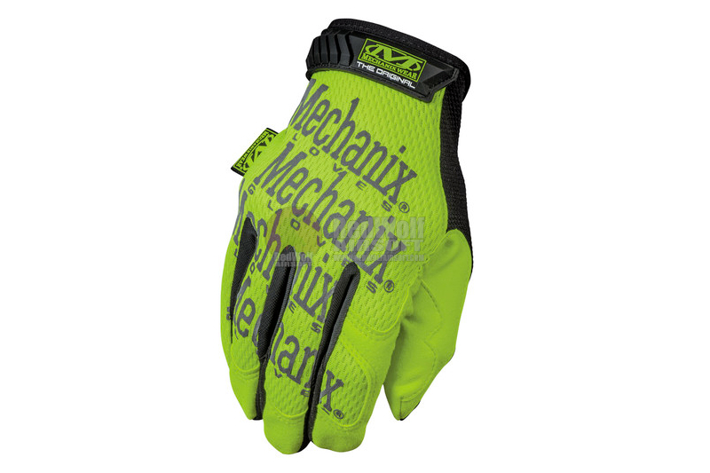 Mechanix Wear Gloves Original Safety (Yellow / XL Size)
